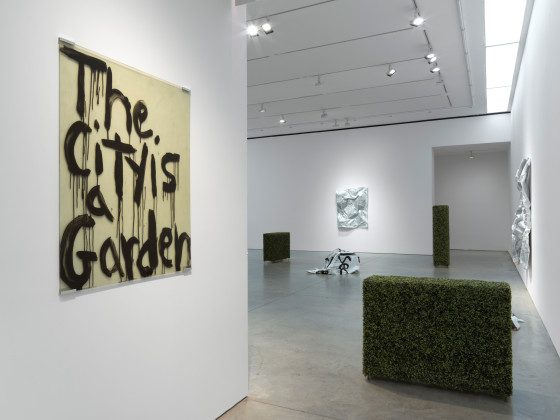 Installation view Kim Gordon Design Office: The City Is A Garden